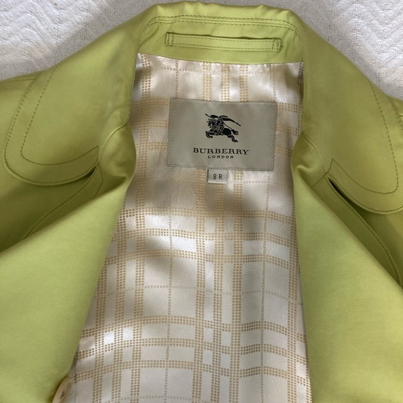 Authentic Burberry Mid Length Trench Coat